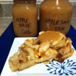 Enjoy apple sauce as a low fat topping on your desserts