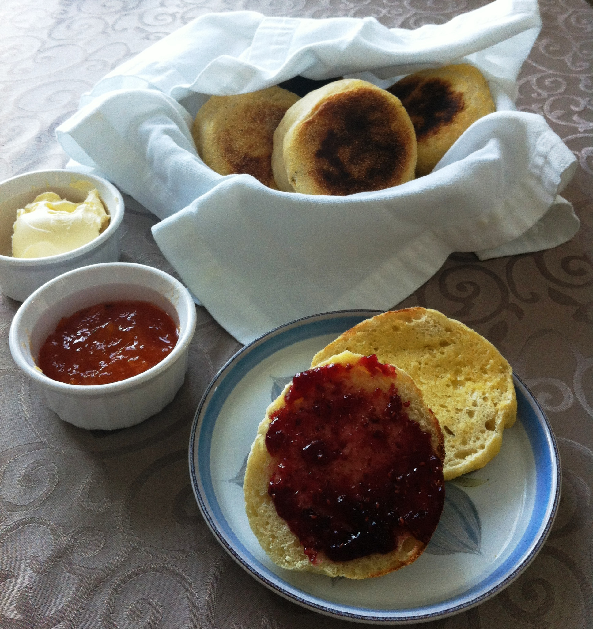 English muffins: americanized crumpet