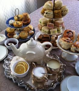 host a grand tea