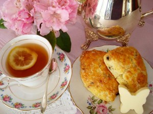 A simple cream tea
