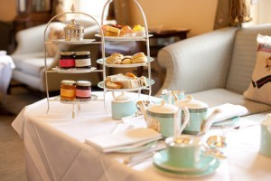 Famous Tea at Fortnum & Mason in London
