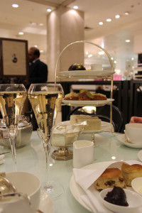 For those who love the show, enjoy Mr. Selfridge's  Afternoon Tea