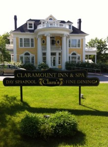 The lovely Claramount Inn and Spa
