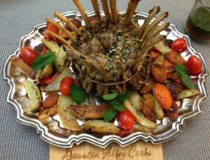 Crown roast a royal and holiday favorite