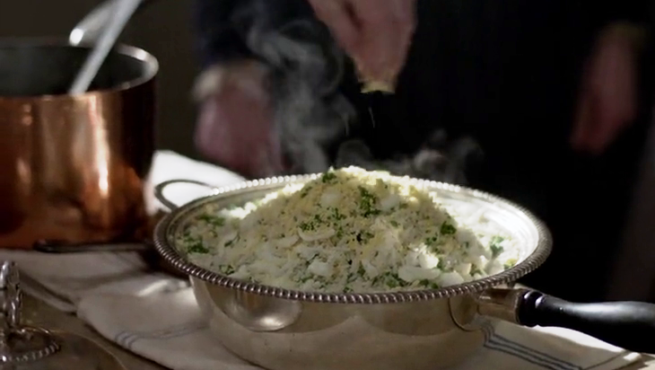 Kedgeree, Mrs. Patmore's First Dish