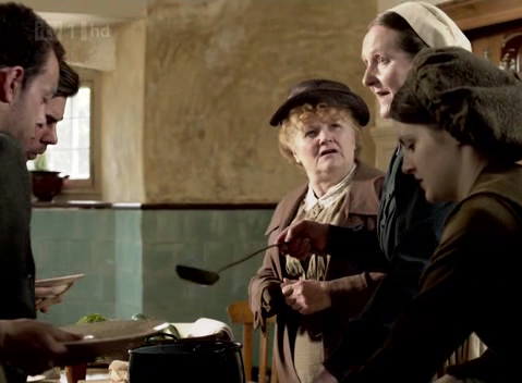 Let Them Eat Soup:  Downton's Soup Kitchen