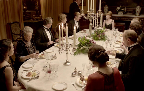 Entertaining was Serious Business At Downton Abbey