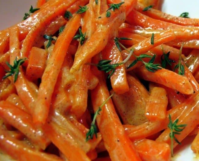 Titanic's Creamed Carrots