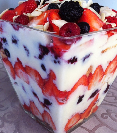 Heavenly Light Low Fat English Trifle