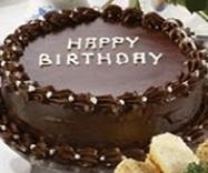 Royal Birthday Cake