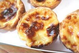 Low Fat Portuguese Custard Tarts (Pastel De Nata)