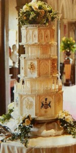If you blinked you missed Mary's Wedding cake, here it is.