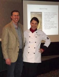 Me and Michael Ellenbogen, event organizer