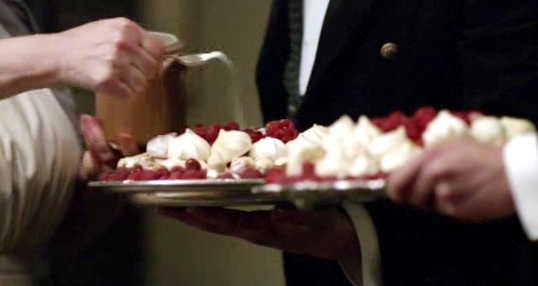 Downton's Infamous Raspberry Meringue Pudding