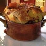 Lovely apple charlotte prepared by @SpringMFRGirl