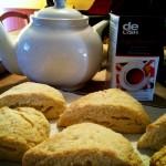 spunforewe's tea and scones