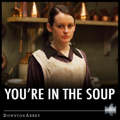 Downton Dishes For Worker's High Tea Include Hearty Ham & Potato Soup