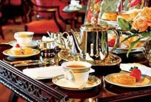 One of the best teas in Canada, the Empress in Victoria