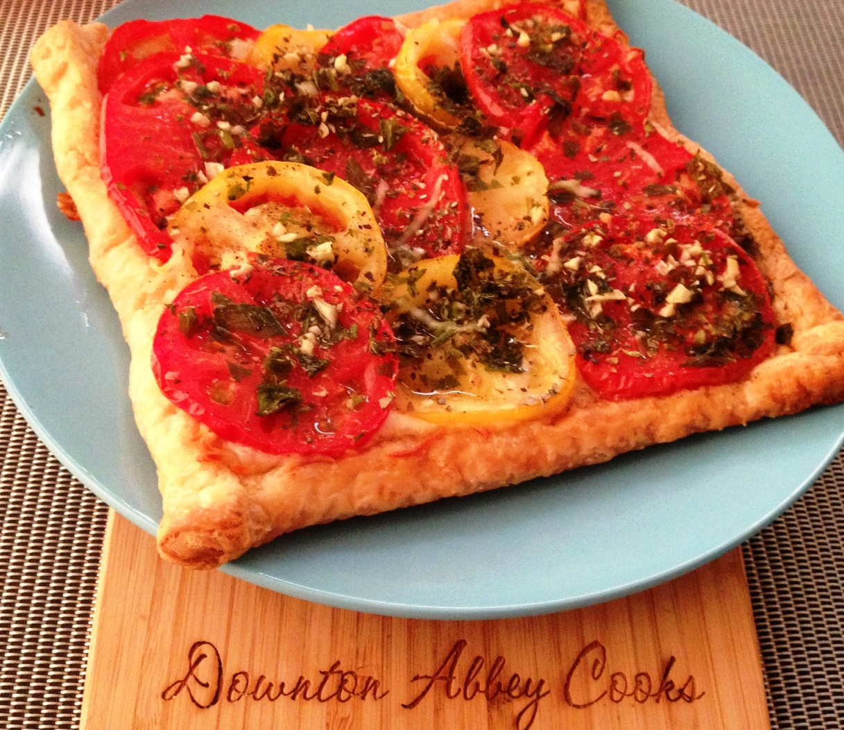 Quick and Delicious Tomato Tart