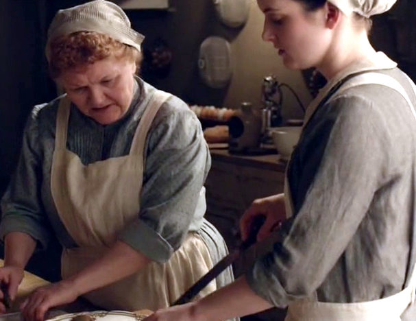 Things Heat up on Downton, Hot and Bubbly Like Croque Monsieur