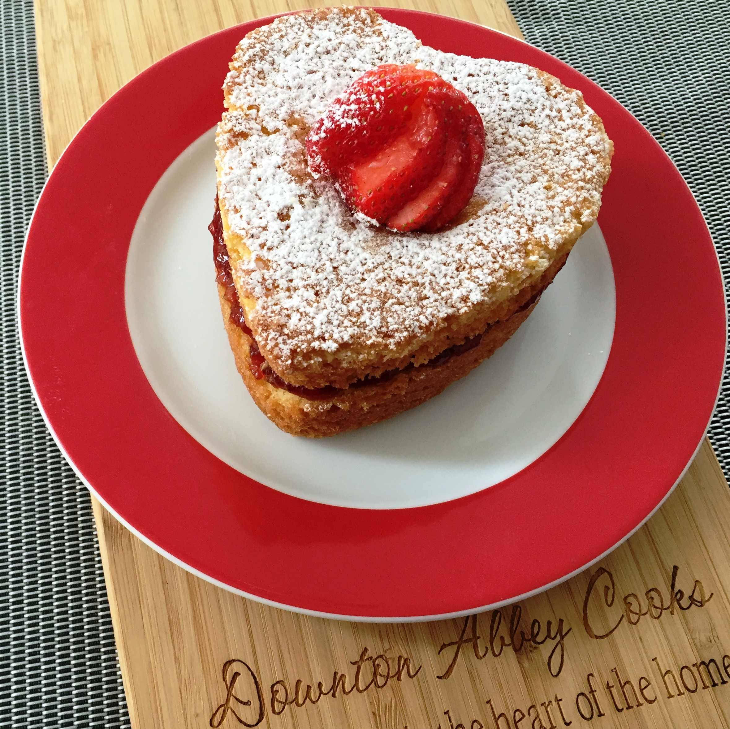 Valentine's Day Love at Downton Abbey is Served with Victoria Sandwich