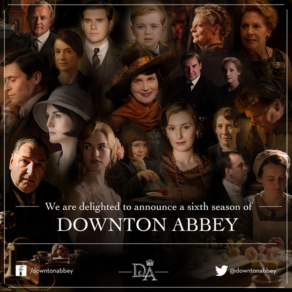 Downton Downtime: Celebrating Garden Bounty and S6 Launch Date