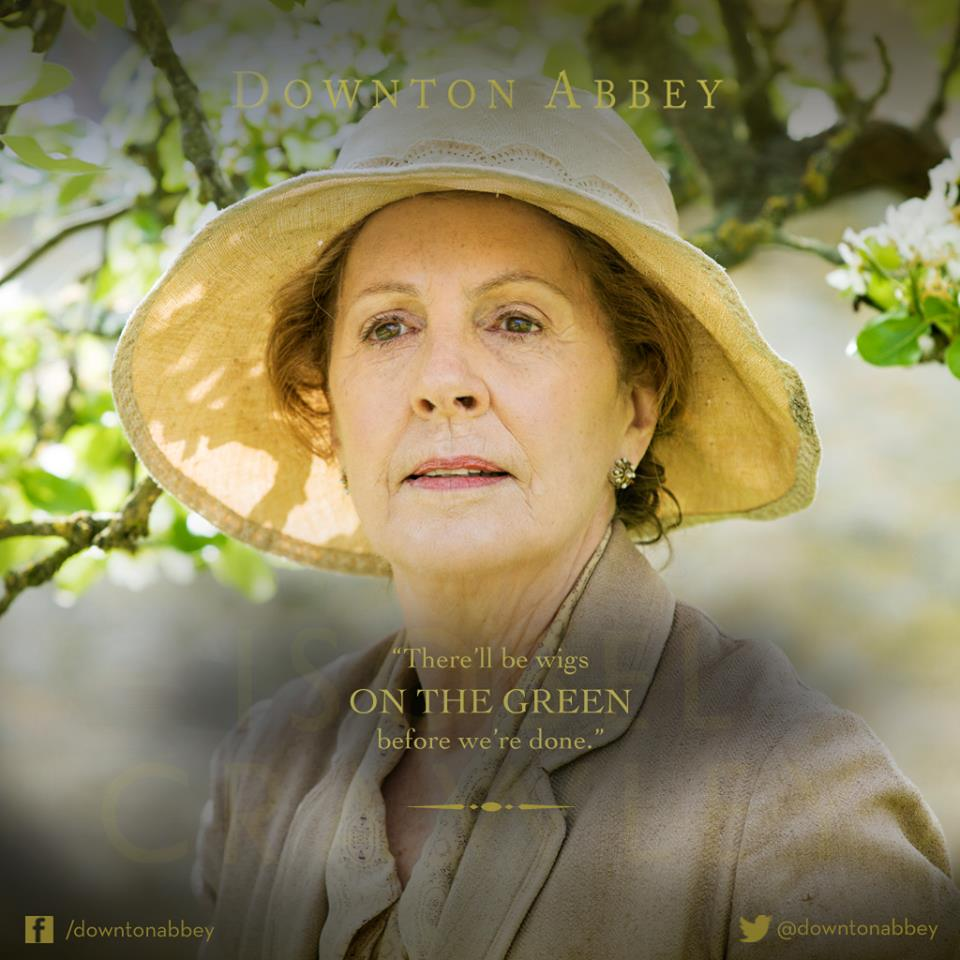 Things are Heating Up at Downton in S06E2, Perhaps it is the Horseradish