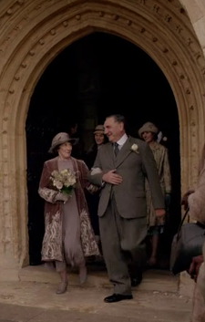Downton S6E3: It's Wedding Bells for Carson, Hot Chocolate for the Dowager