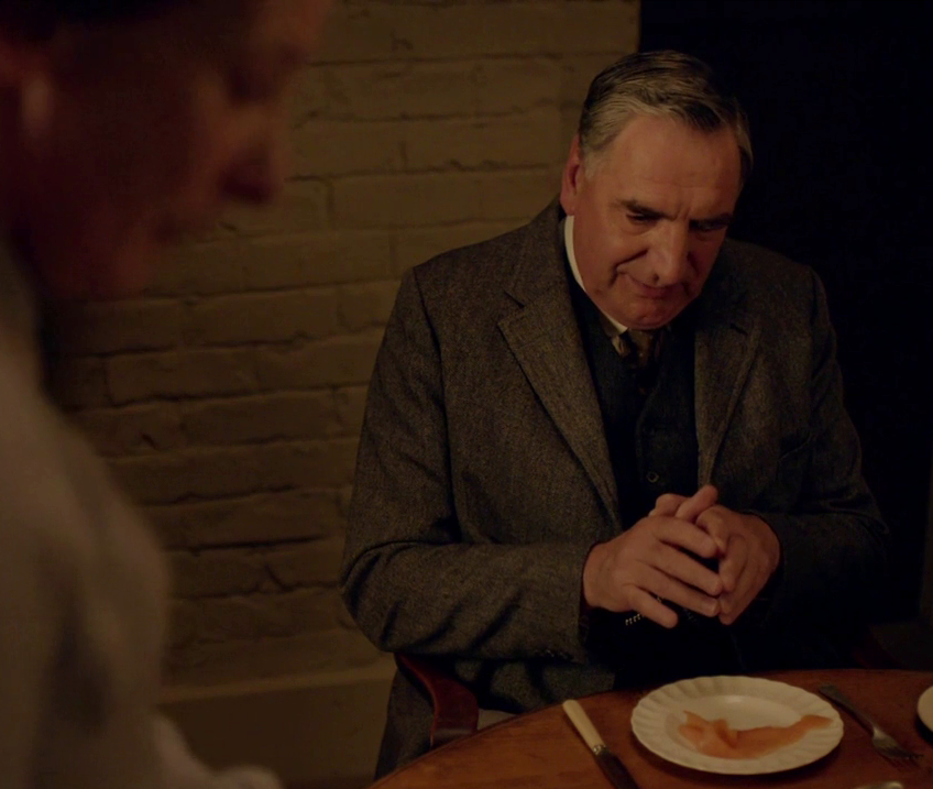 Downton S6E6: Smoked Salmon and Other Romantic Guestures