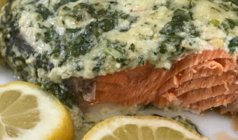 Quick and Dreamy Creamy Garlic Salmon