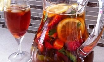 Cool and Refreshing Pimm's Punch