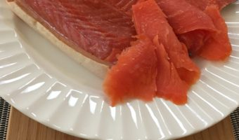 Simply Made Cold Smoked Salmon