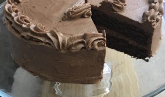 Lovely Light Chocolate Zucchini Keto Cake