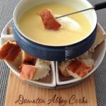 Simply Classic Swiss Cheese Fondue
