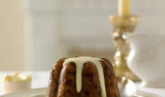 Traditional Christmas Plum Pudding