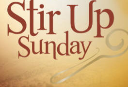 British Christmas Traditions Begin with Stir Up Sunday